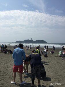 2015ビーチクリーン