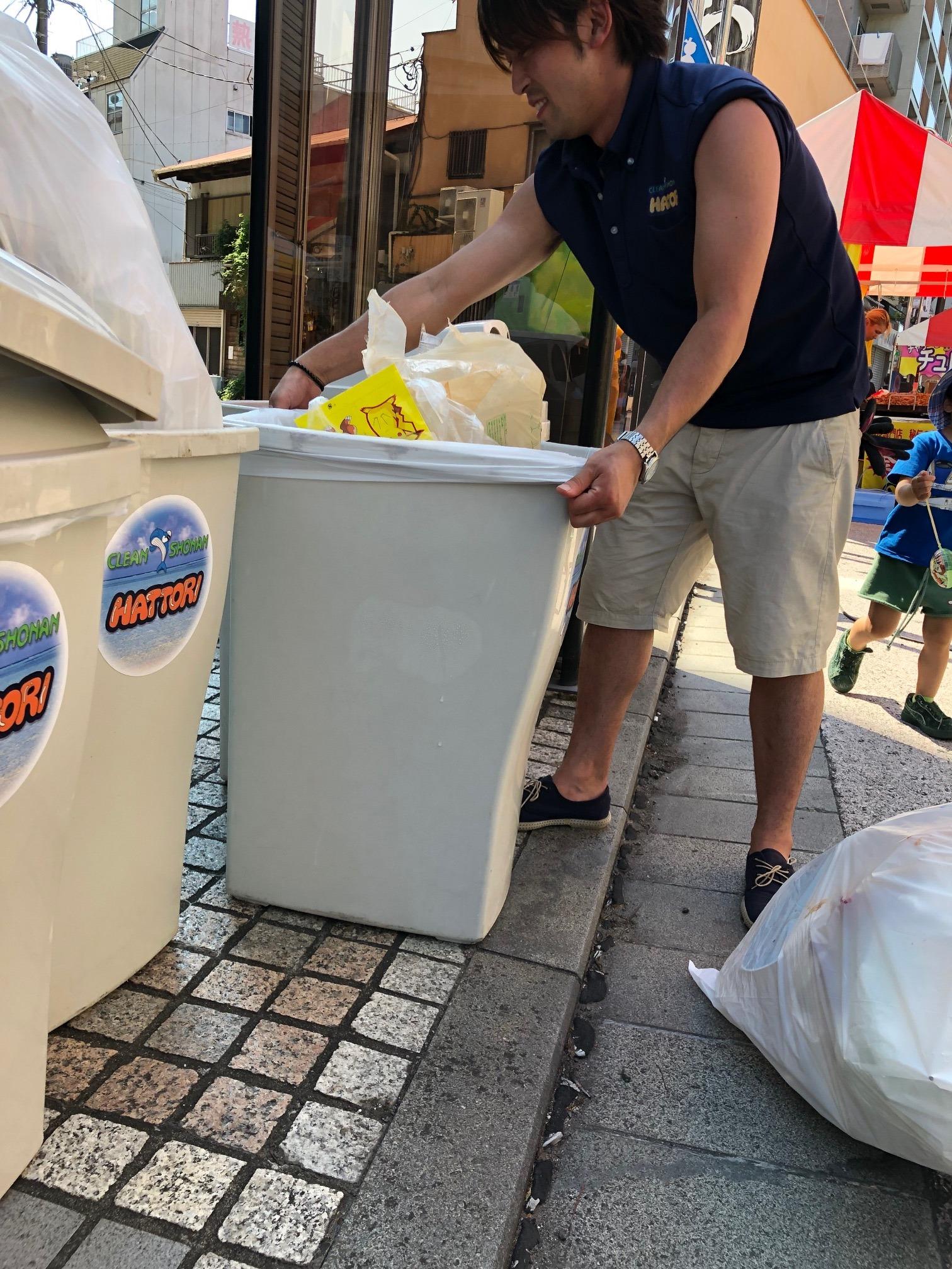服部商店 湘南のごみ屋さん 金魚祭り あんどん物語2019