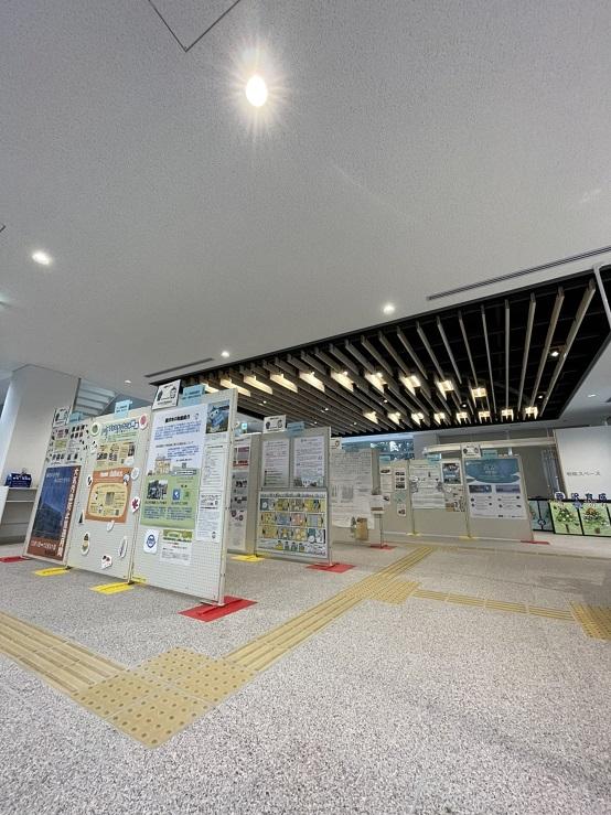 ふじさわ環境フェア パネル展 服部商店